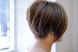 レディースショートヘア